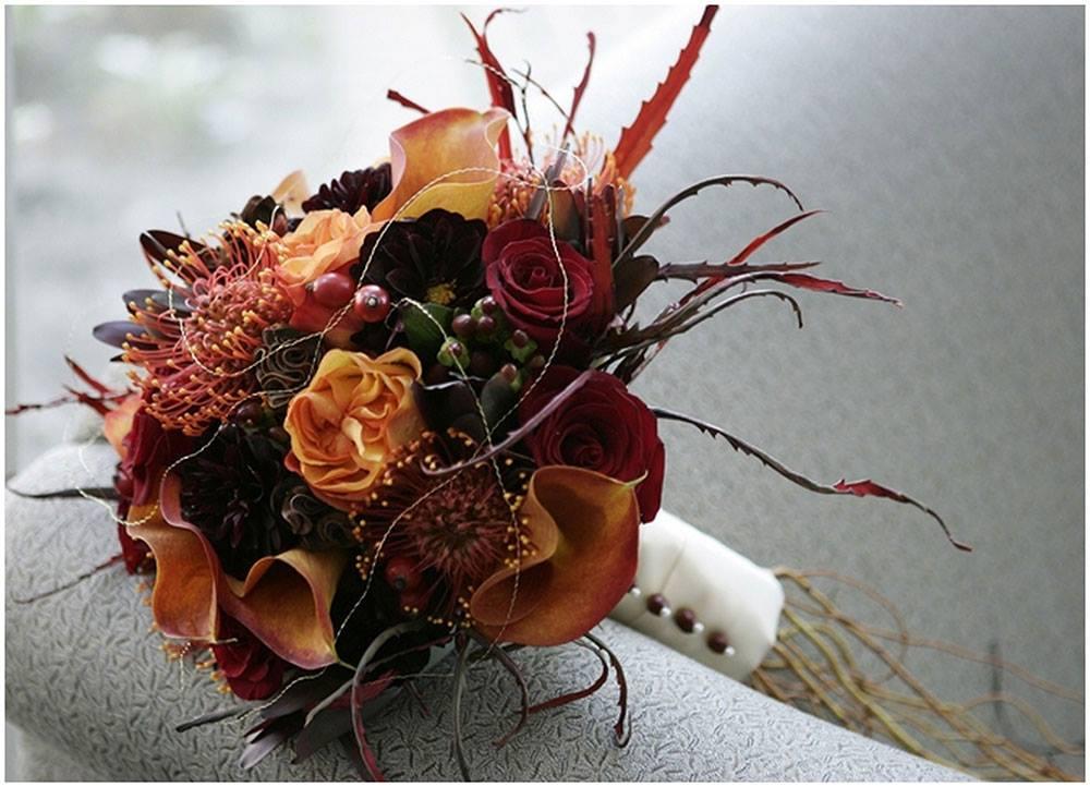 Bridal bouquet trends